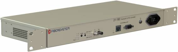 Fiber optic G.703 64kbps codir converter